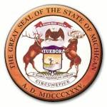 1835 Original Seal for Michigan